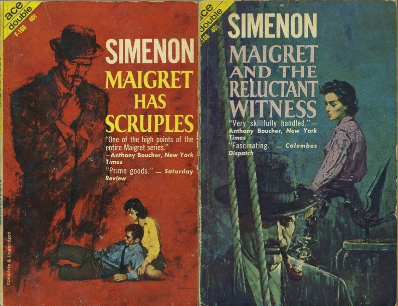 Maigret Has Scruples/Maigret And The Reluctant Witness Georges Simenon