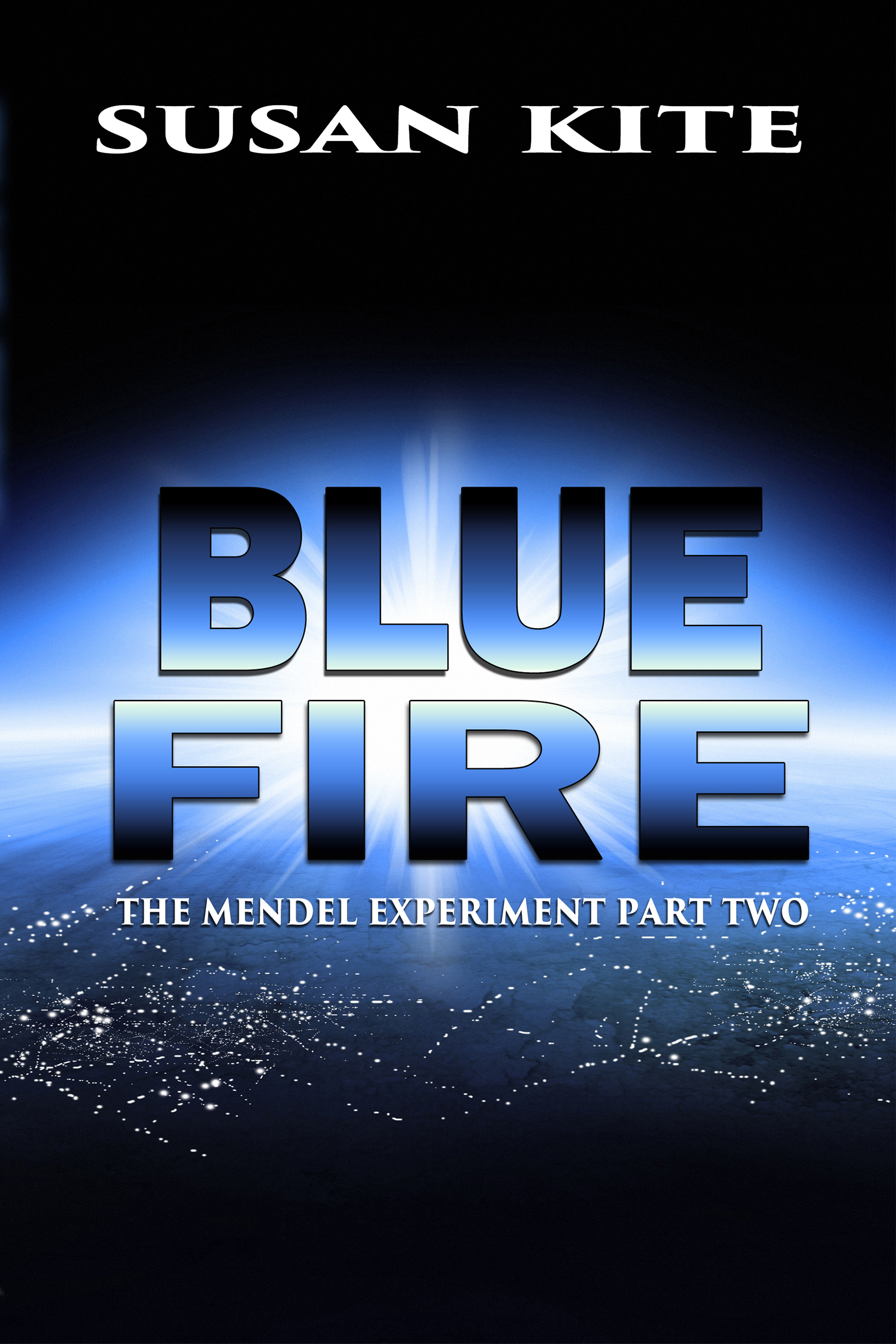 Blue Fire Susan Kite