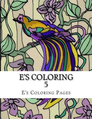 Es Coloring 5 Es Coloring Pages