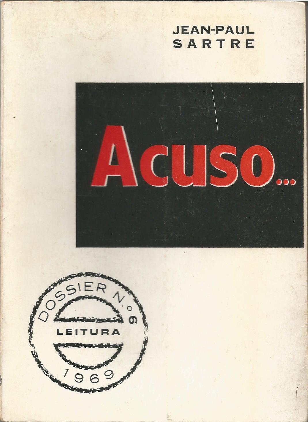 Acuso...  by  Jean-Paul Sartre