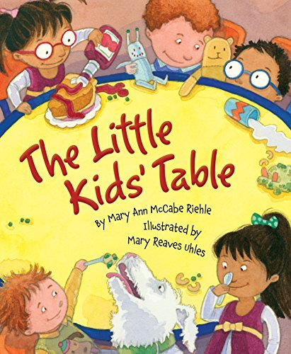 The Little Kids Table  by  Mary Ann Mccabe Riehle