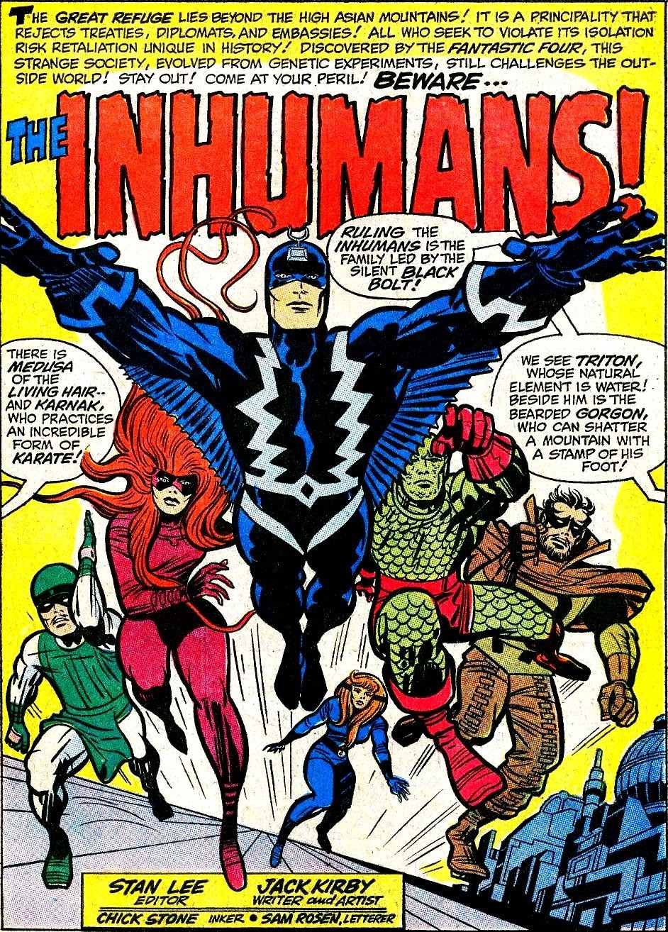 The Inhumans: Key issues Stan Lee, Jack Kirby, various authors