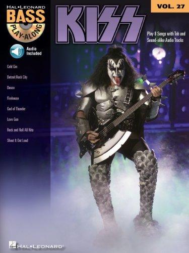 Kiss (Songbook): Bass Play-Along Volume 27 Kiss