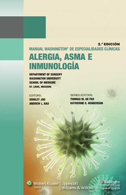 Manual Washington de Alergia, Asma E Inmunologia  by  Shirley Joo