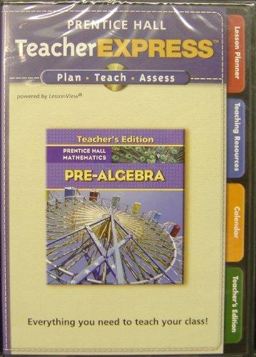 Teacher Express T/a Pre-Algebra CDS (Teachers Edition, 2 CD Set, Prentice Hall Mathematics) Prentice Hall