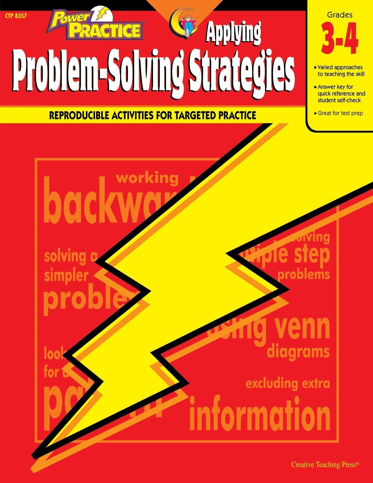 Power Practice Applying Problem-Solving Strategies, Gr. 3-4  by  Angela Higgs