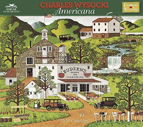 Charles Wysocki - Americana Wall Calendar (2016) AMCAL