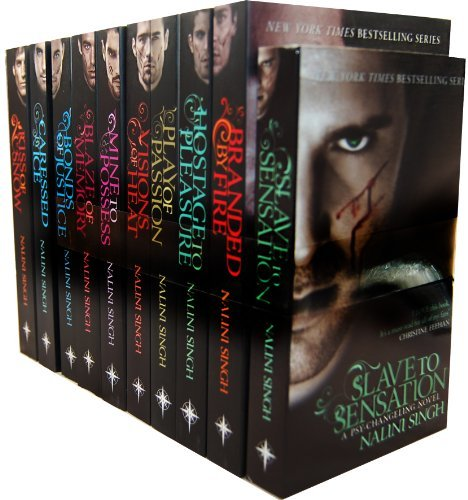 Nalini Singh The Psy Changeling Series 10 Books Collection Pack Set RRP 76.90 Nalini Singh