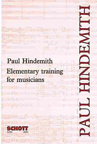 Elementary Training for Musicians (2nd Edition)  by  Paul Hindemith