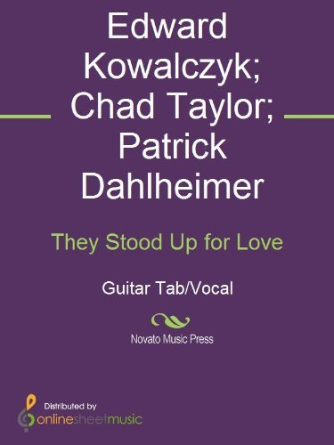 They Stood Up for Love  by  Chad Taylor