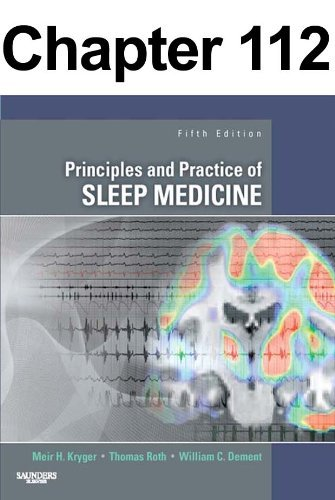 Restrictive Lung Disorders: Chapter 112 of Principles and Practice of Sleep Medicine  by  Meir Kryger