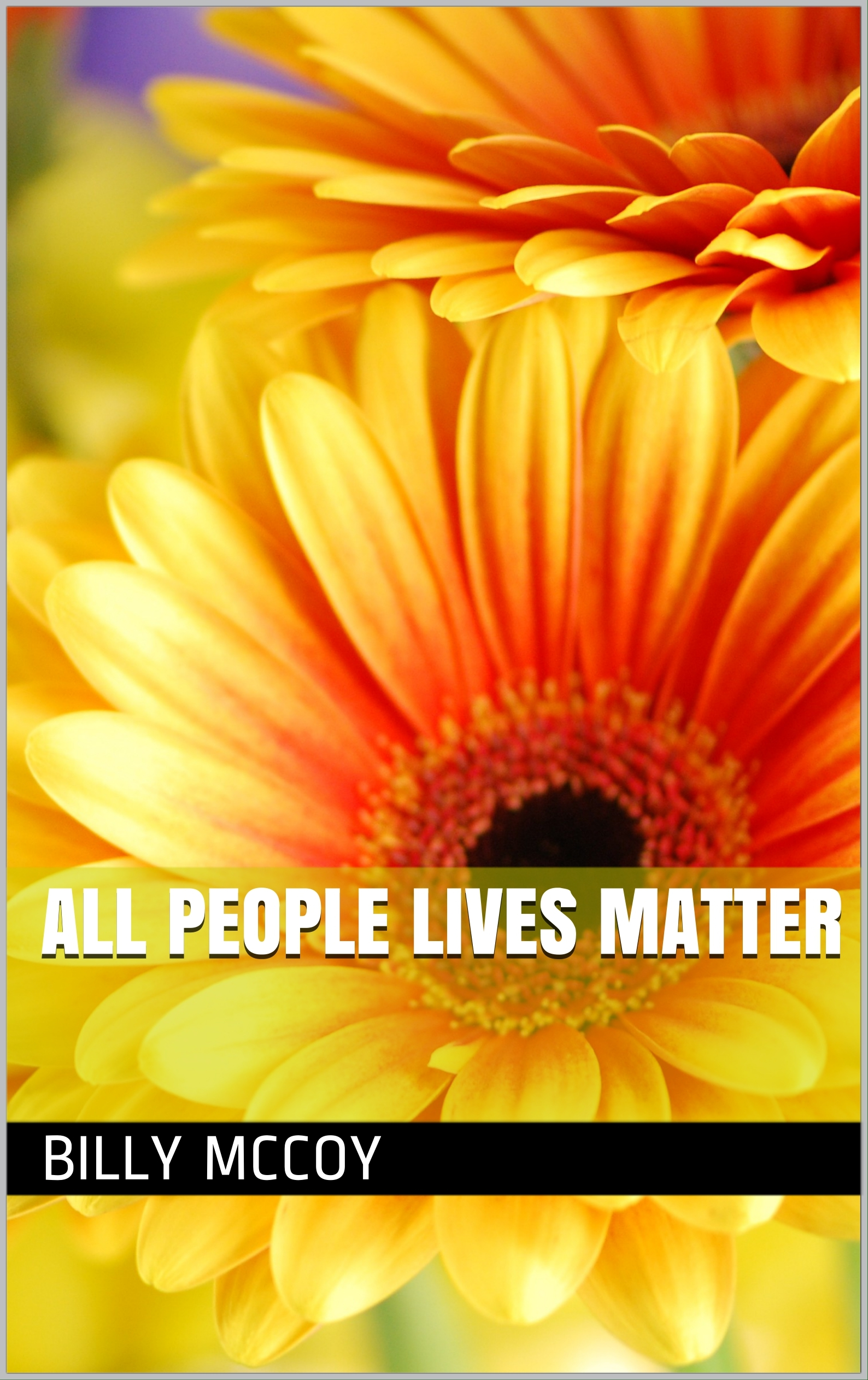 all people lives matter Billy McCoy