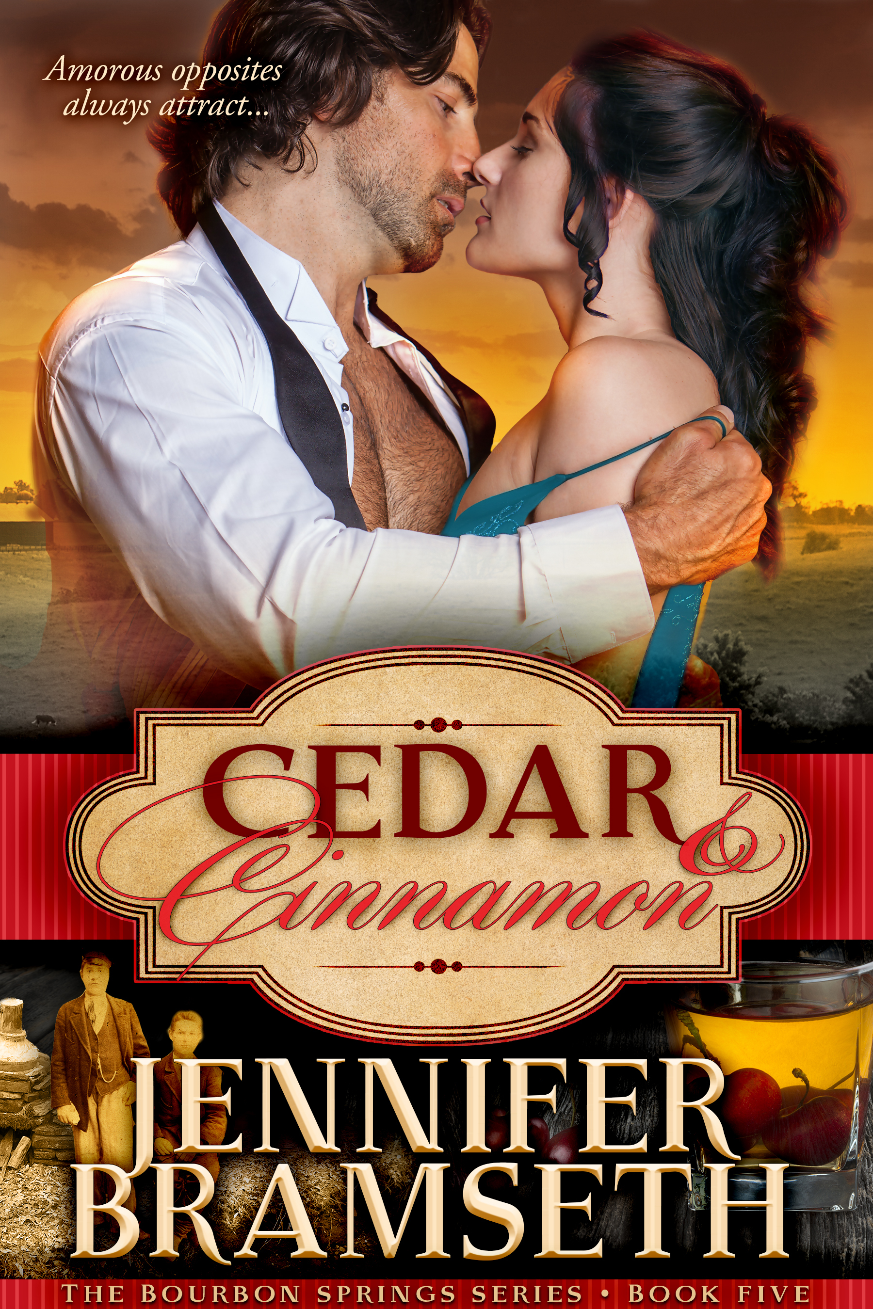 Cedar and Cinnamon (Bourbon Springs, #5)  by  Jennifer Bramseth