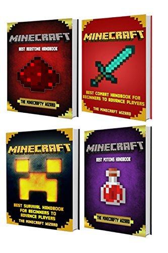 MINECRAFT: Box Set: Minecraft Potions - Minecraft Redstone - Minecraft Combat - Minecraft Survival  by  THE MINECRAFTY WIZARD