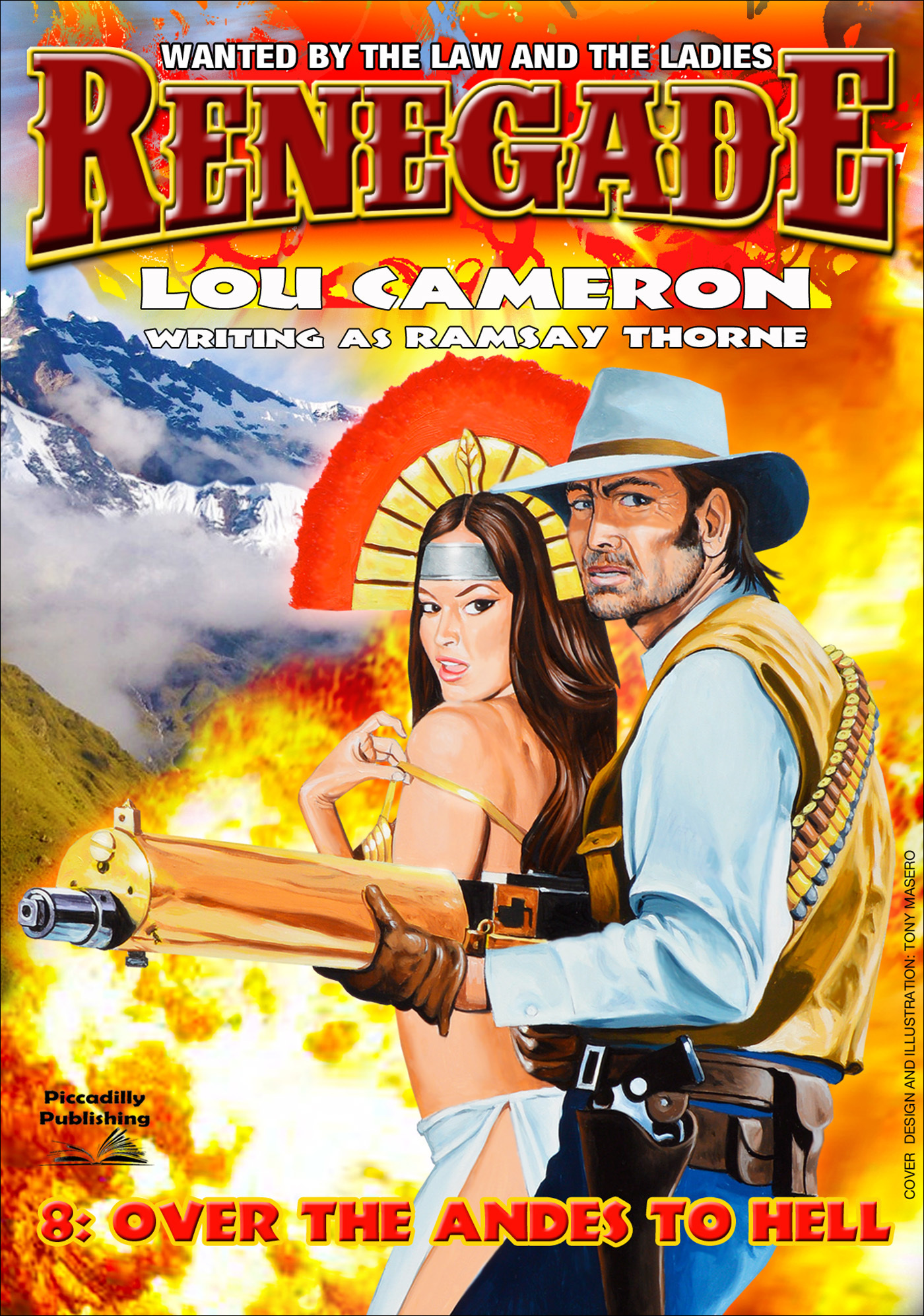 Over the Andes to Hell (A Captain Gringo Western Book 8) Lou Cameron