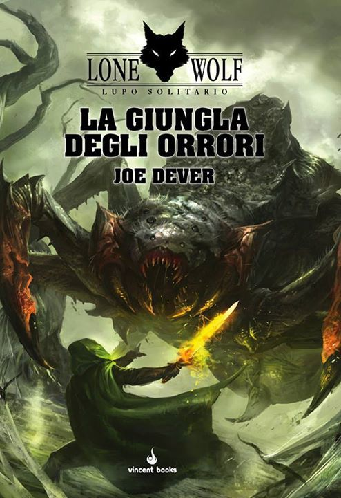 Lupo Solitario - La Giungla degli Orrori  by  Joe Dever