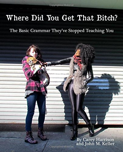 Where Did You Get That Bitch?: The Basic Grammar Theyve Stopped Teaching You Carey Harrison