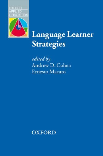 OAL: LANGUAGE LEARNER STRATEGIES  by  A.D. Cohen