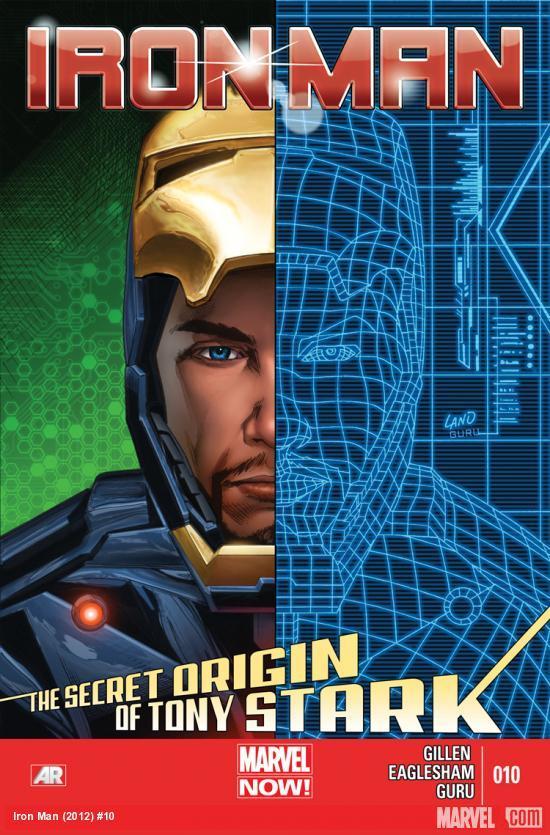 Iron Man #10  by  Kieron Gillen