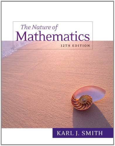 Bundle: Nature of Mathematics, 12th + Enhanced WebAssign - Start Smart Guide for Students + Enhanced WebAssign Homework with eBook Printed Access Card for One Term Math and Science  by  Karl J. Smith