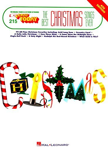 Best Christmas Songs Ever: E-Z Play Today Volume 215 (E-Z Play Today, 215)  by  Hal Leonard