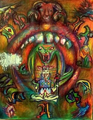 Dhar Chasm  by  Nyc Brennan