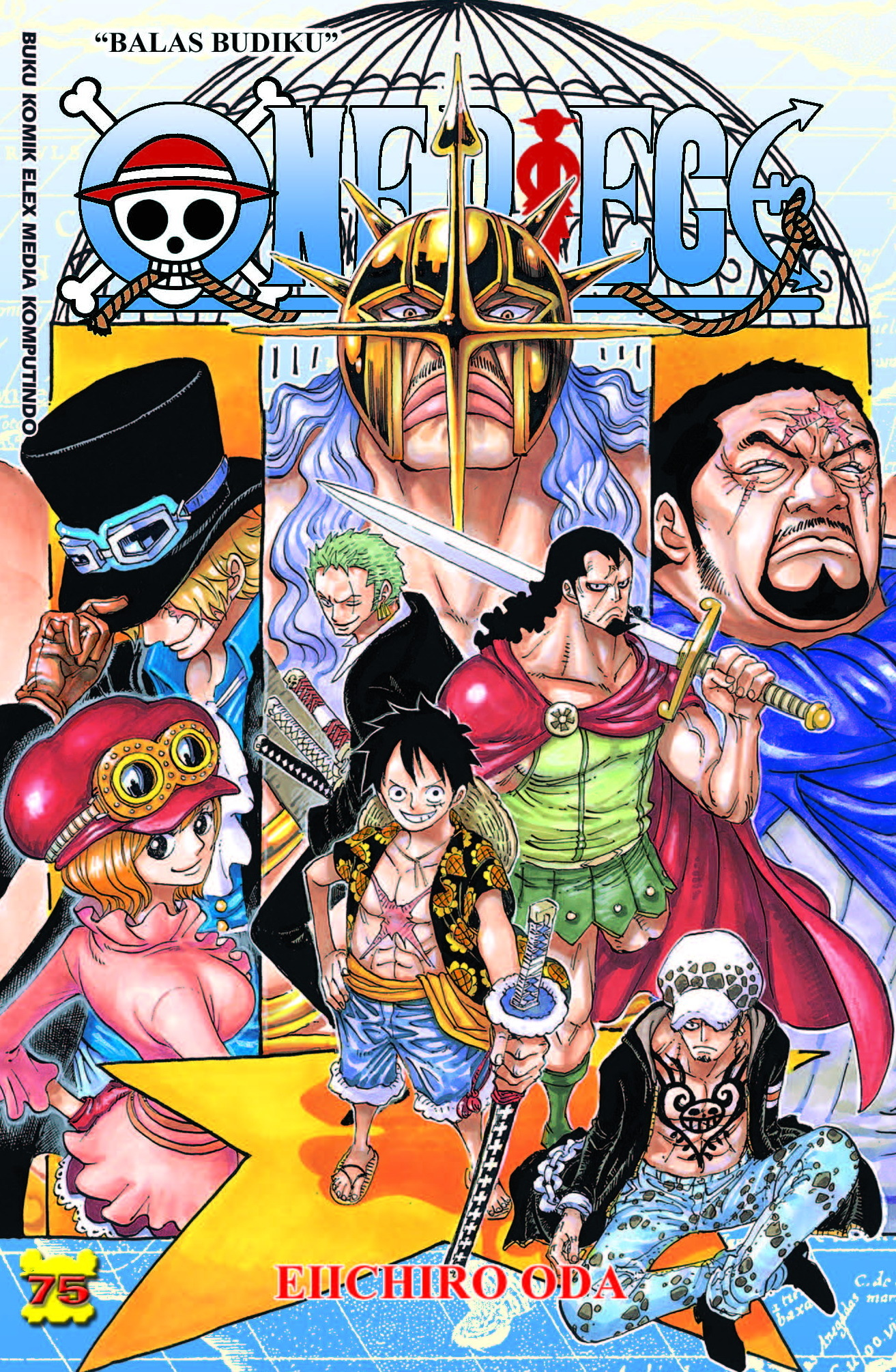 One Piece Vol. 75  by  Eiichiro Oda