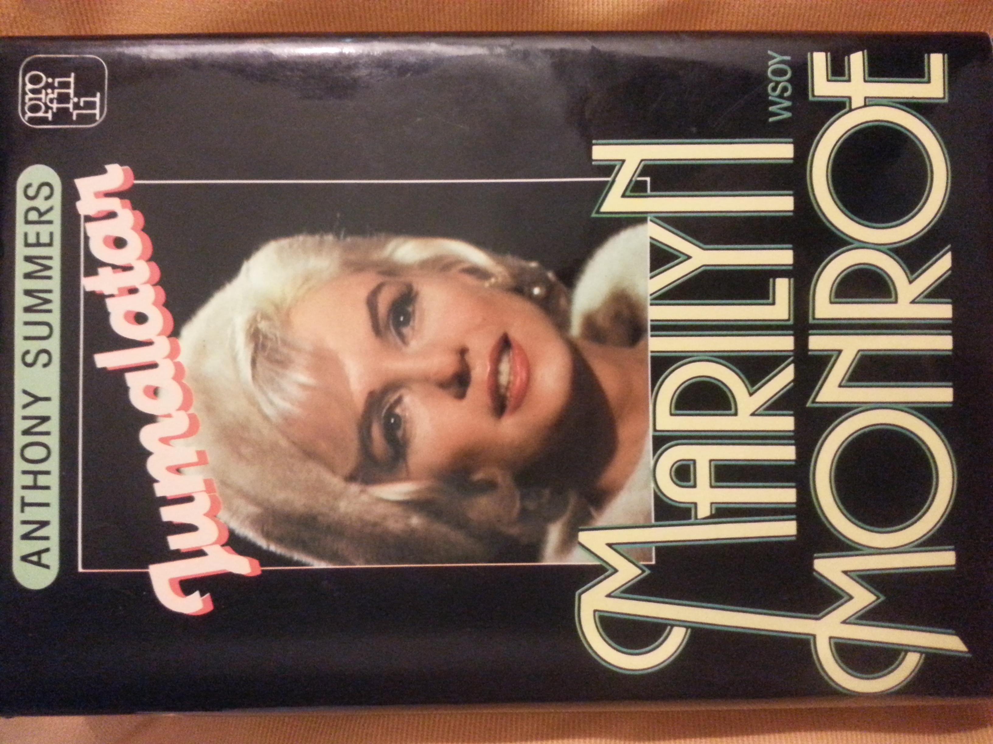 Jumalatar Marilyn Monroe Anthony Summers