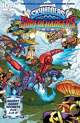 Skylanders: Superchargers #2  by  Ron Marz