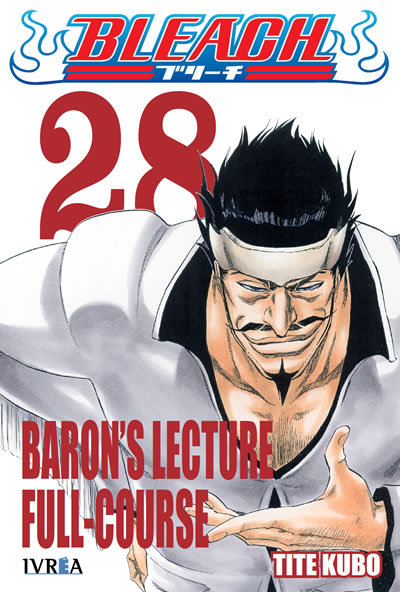 Bleach, tomo 28: Barons Lecture Full-Course (Bleach, #28) Tite Kubo