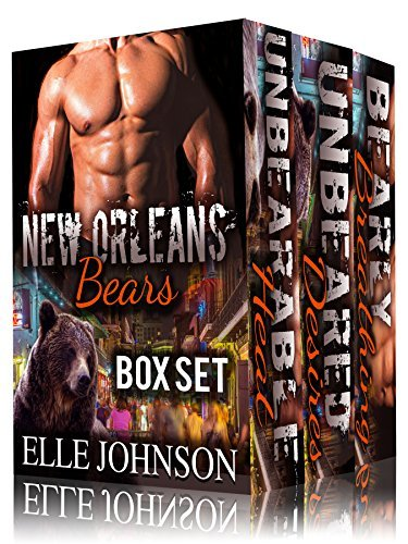 BEARED the New Orleans Bears Series Boxed Set: BBW Werebear Billionaire Romance Elle Johnson