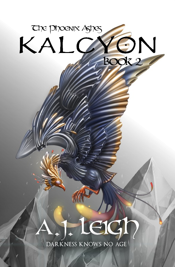 Kalcyon (The Phoenix Ashes Trilogy, #2)  by  A.J. Leigh