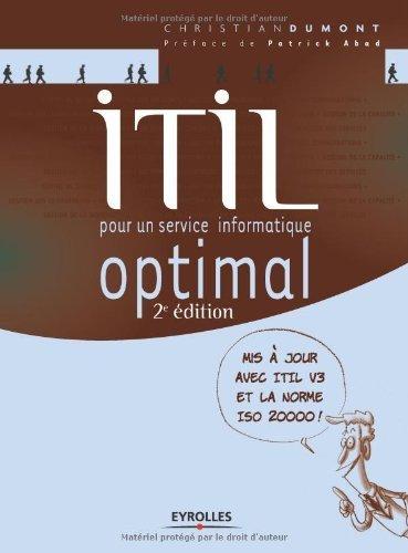 ITIL : Pour un service informatique optimal  by  christian Dumont