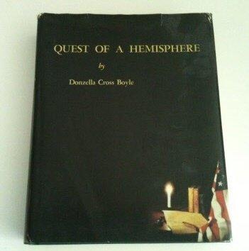 Quest of a Hemisphere Donzella Cross Boyle