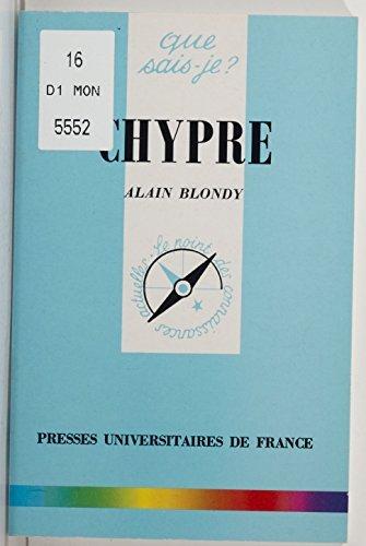 Chypre Alain Blondy