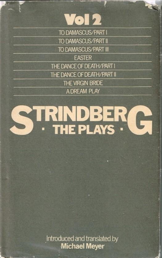 Strindberg: The Plays Volume 2 August Strindberg