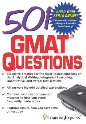 501 GMAT Questions  by  LearningExpress LLC