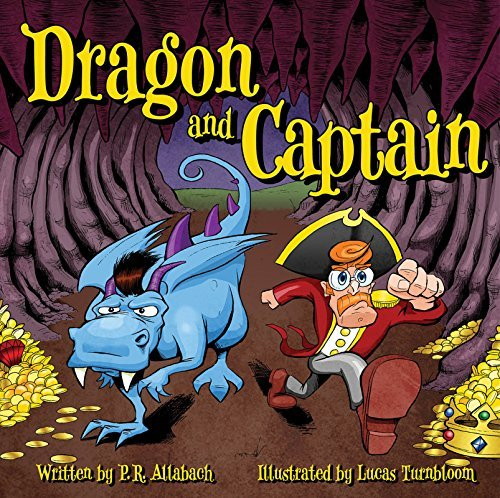 Dragon and Captain  by  P. R. Allabach