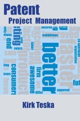 Patent Project Management  by  Kirk Teska