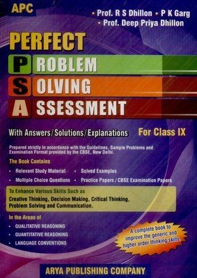 Perfect PSA Problem Solving Assessment with Answers / Solutions / Explanations (Class 9) Deep Priya Dhillon