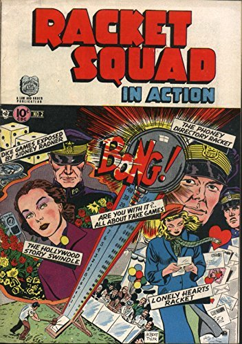 Racket Squad in Action July 1952 (Pulp Life Book 27)  by  Kurtis Krimes