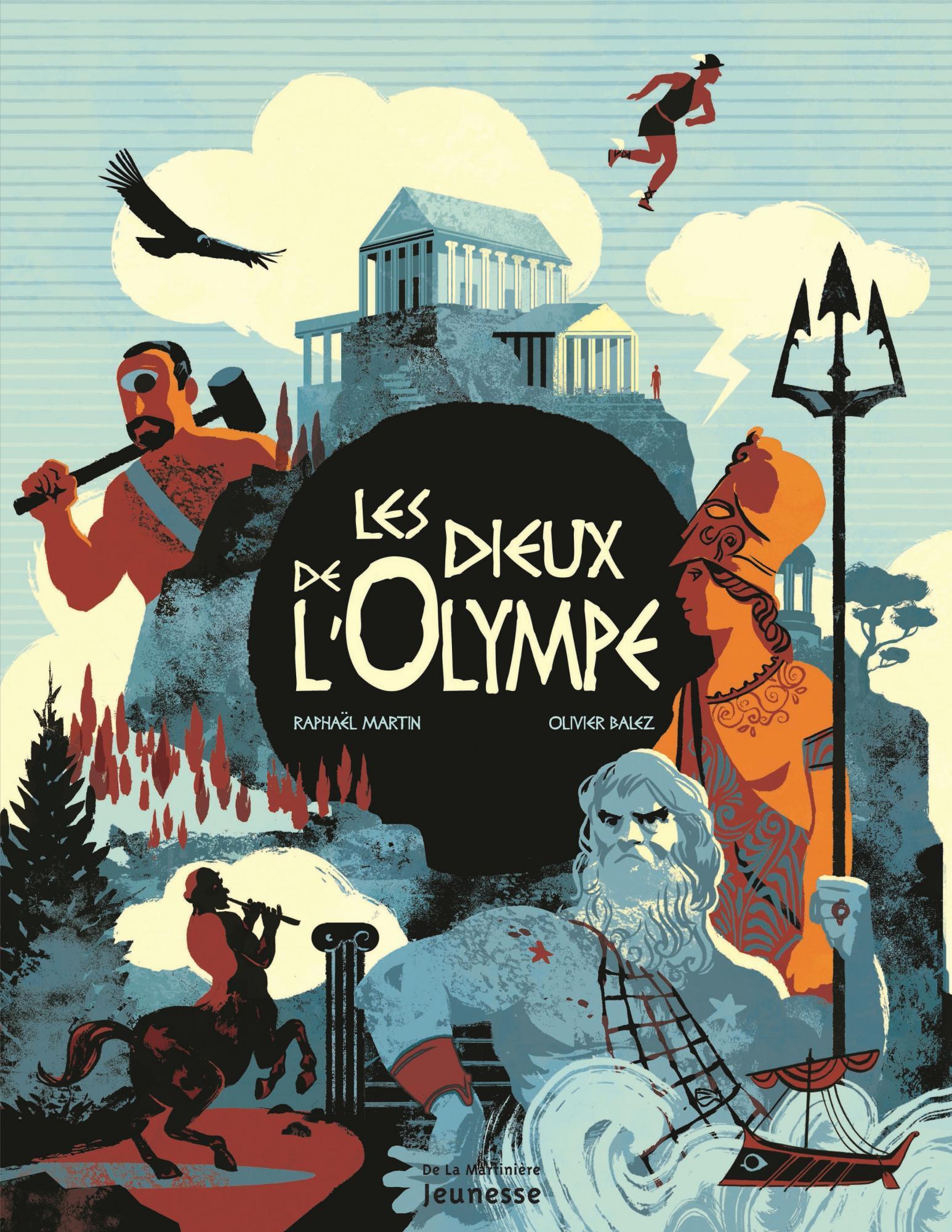 Les dieux de lOlympe  by  Raphael Martin