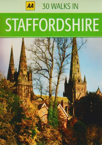 30 Walks in Staffordshire  by  AA Publishing