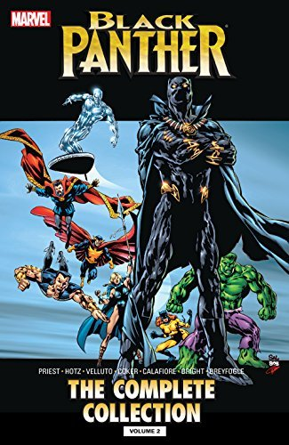 Black Panther Christopher Priest: The Complete Collection Vol. 2 (Black Panther (1998-2003)) by Christopher Priest