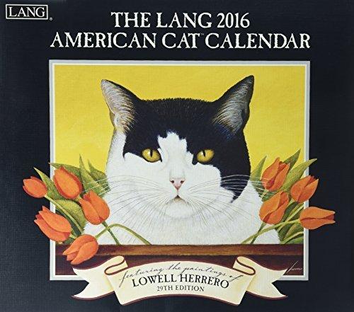American Cat Calendar Lowell Herrero