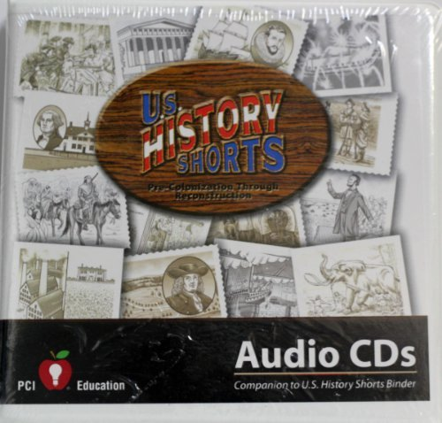 U.s. History Shorts 1 Audio Cd PCI Education