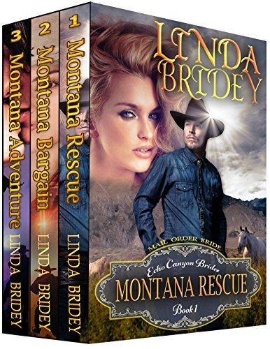 Echo Canyon Brides Box Set - Books 1 - 3: Clean Historical Mail Order Bride Collection Linda Bridey