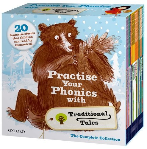 Practise Your Phonics with Traditional Tales Set Collection (21 Books) RRP:£125.79 (Oxford Reading Tree) Various