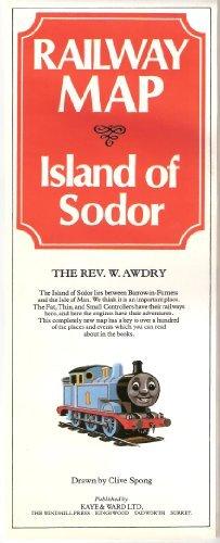 Railway Map of the Island of Sodor Rev W. Awdry