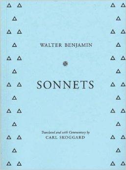 Sonnets  by  Walter Benjamin